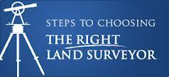 choose a good landsurveyor
